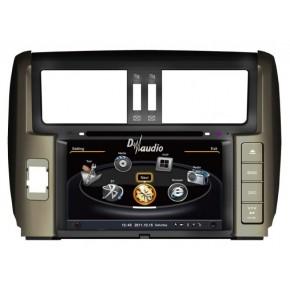Штатное головное устройство Toyota Prado 150 (2009-2013)