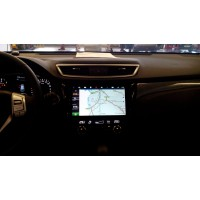 Установка штатного головного устройства в  Nissan X-Trail 2014