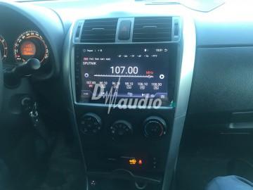 Установка штатного головного устройства в  Toyota Corolla 150