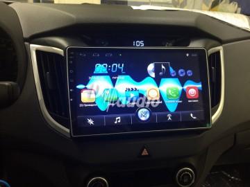 Установка штатного головного устройства в  Hyundai Creta