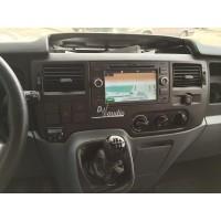 Установка штатного головного устройства в Ford Transit