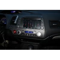 Установка штатного головного устройства в Honda Civic