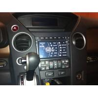 Установка штатного головного устройства в Honda Pilot