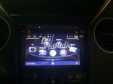 Установка штатного головного устройства в  Honda Pilot 2012