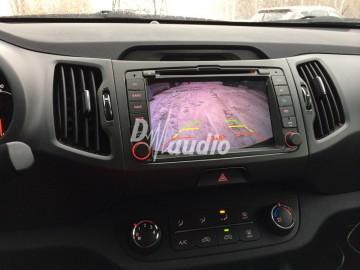 Установка штатного головного устройства в Kia Sportage 2013