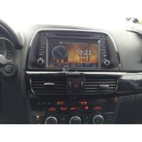 Установка штатного головного устройства в Mazda CX-5