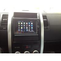 Установка штатного головного устройства в Nissan X-Trail CarPad