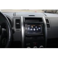 Установка штатного головного устройства в Nissan X-Trail