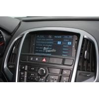 Установка штатного головного устройства в Opel Astra J