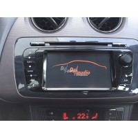 Установка штатного головного устройства в Seat Ibiza