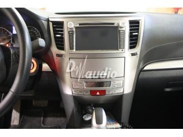 Установка штатного головного устройства в Subaru Legasy