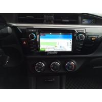 Установка штатного головного устройства в Toyota Corolla 2014
