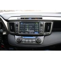 Установка штатного головного устройства в Toyota Rav4 2013