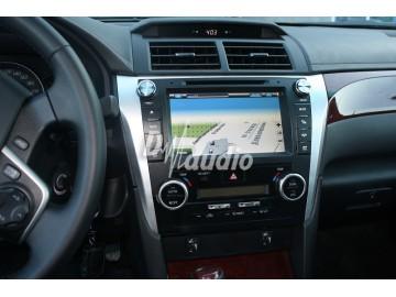 Установка штатного головного устройства в Toyota Camry 2012