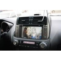 Установка штатного головного устройства в Toyota Prado 150