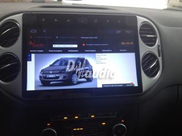 Установка штатного головного устройства в VW Tiguan