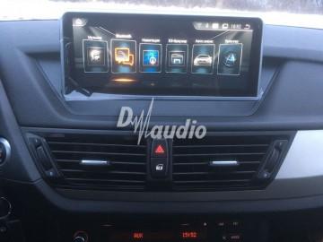 Установка штатного головного устройства в BMW X1