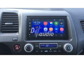 Установка штатного головного устройства в  Honda Civic 4D