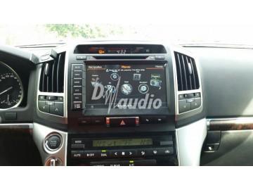 Установка штатного головного устройства в  Toyota LC200