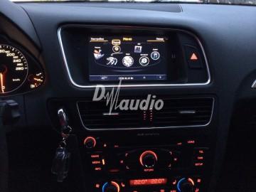 Установка штатного головного устройства в Audi Q5