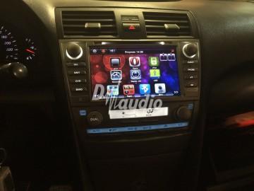 Установка штатного головного устройства в Toyota Camry v40
