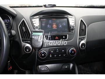 Установка штатного головного устройства в Hyundai IX35