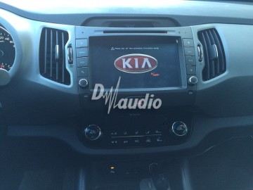 Установка штатного головного устройства в Kia Sportage 2014