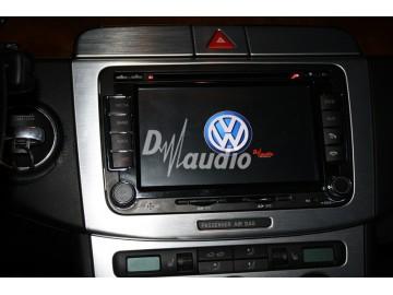 Установка штатного головного устройства в VW Passat B6