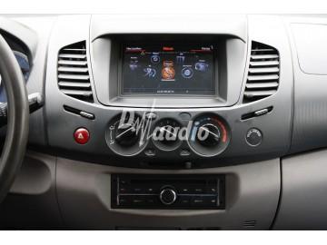 Установка штатного головного устройства в Mitsubishi L200