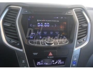 Штатное головное устройство Hyundai Santa Fe 2012+